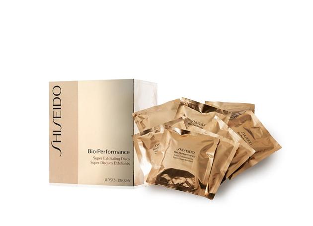 Kết quả hình ảnh cho Shiseido Bio Performance Exfoliating Discs